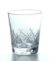 Japanese Yarai Old Fashioned Glass / Whiskey Glass
