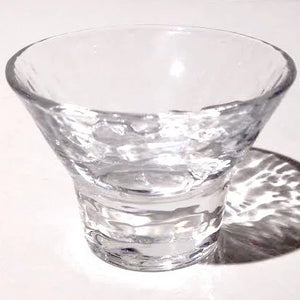Japanese Crystal Small Sake Cup
