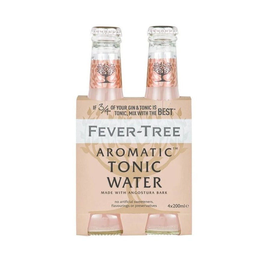 Fever Tree Aromatic Tonic (4-pack)