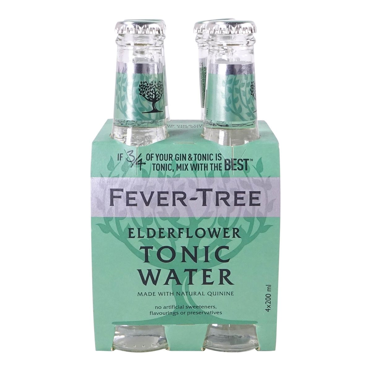 Fever Tree Elderflower Tonic (4-pack)