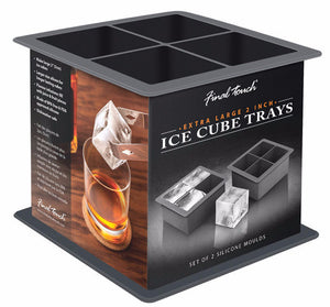 Final Touch 2-Inch Ice Cube Trays