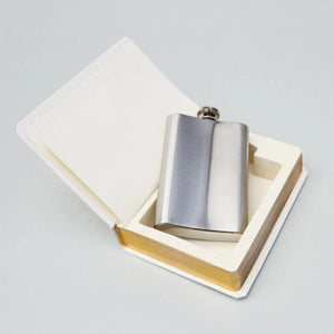 The Good Book Flask