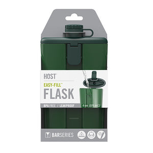Easy-Fill Green Flask