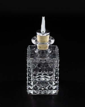 'Elixir' Square Dash Bitters Bottle