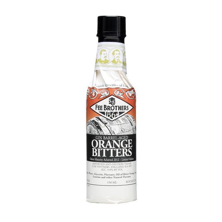 Fee Brothers Gin Barrel-Aged Orange Bitters
