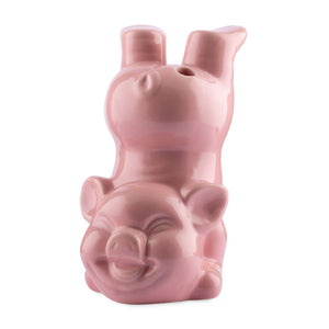Bottoms Up Pig Tiki Mug