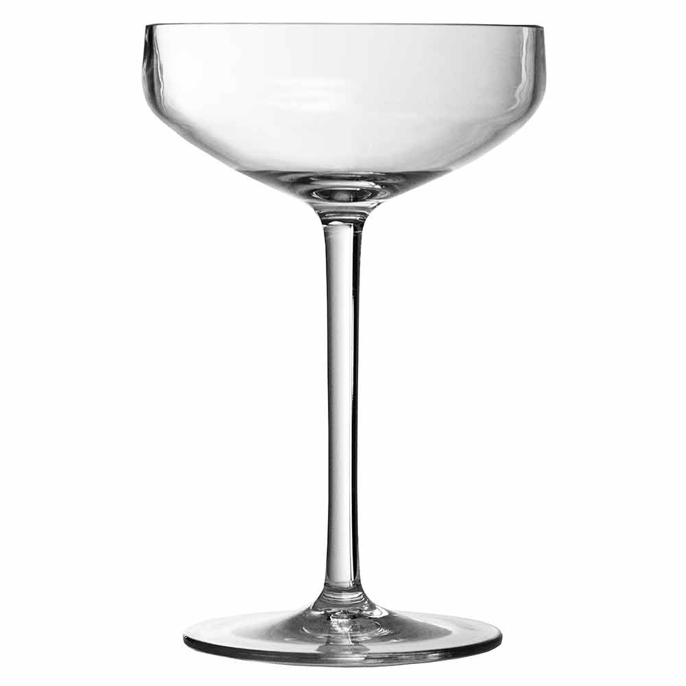 Iris Plastic Coupe Glass