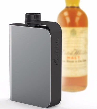 Rabbit Tethered Hip Flask