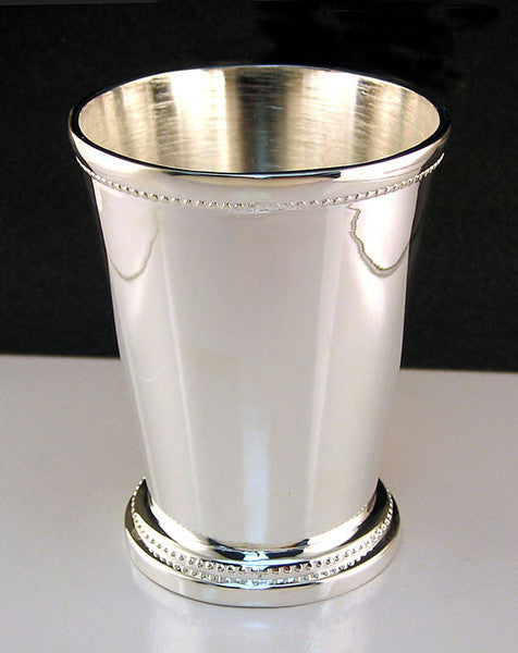 Silver plated mint julep cup cocktail emporium for Option house com