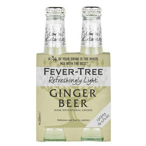 Fever Tree Light Ginger Beer (4-pack)