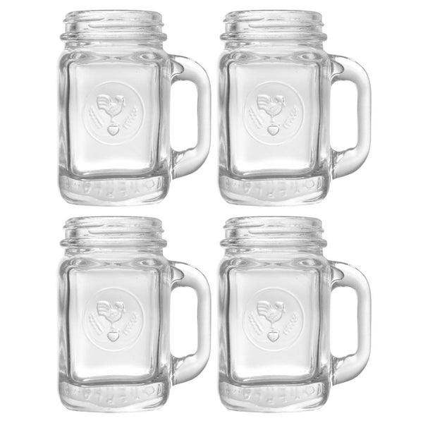 Mason jar shot glasses cocktail emporium for Option house com