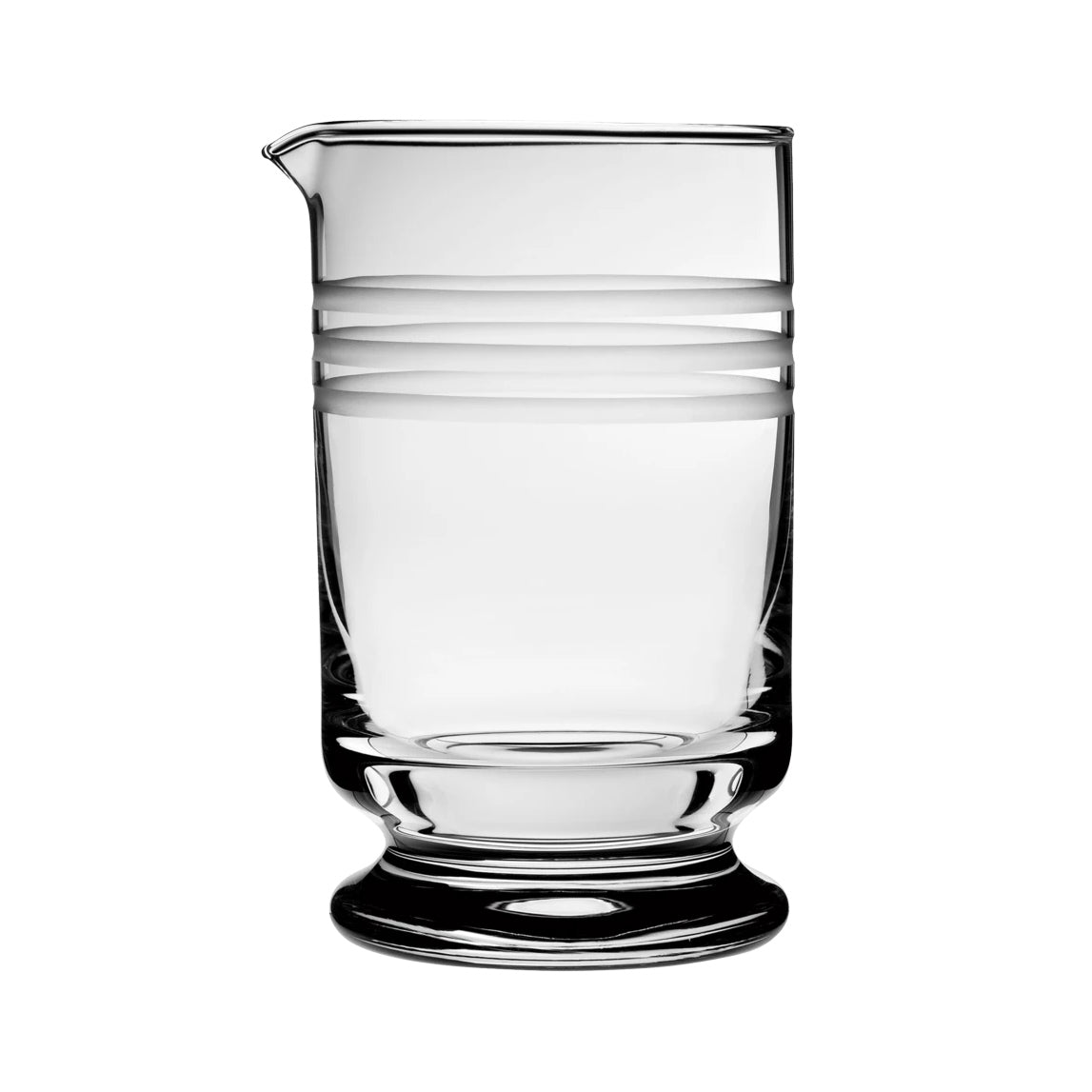 Calabrese Etched Mixing Glass
