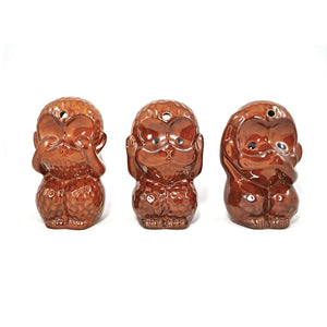 3 Wise Monkeys Tiki Mug
