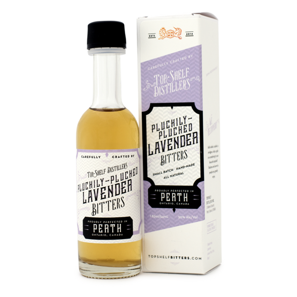 Top Shelf Pluckily Picked Lavender Bitters