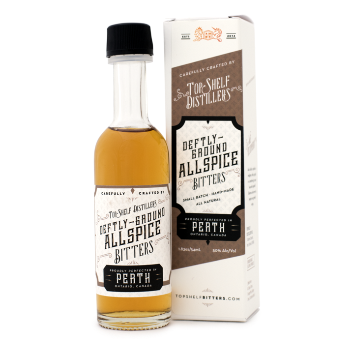 Top Shelf Deftly Ground Allspice Bitters