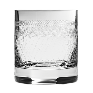 1910 Retro Old Fashioned Glass