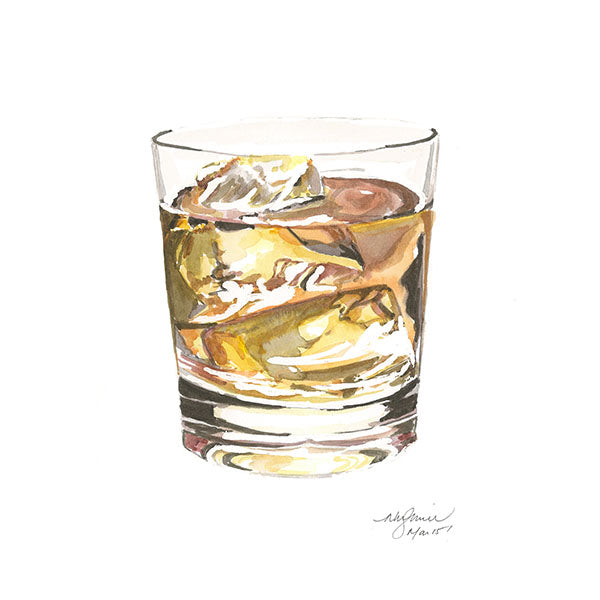 Scotch Greeting Card
