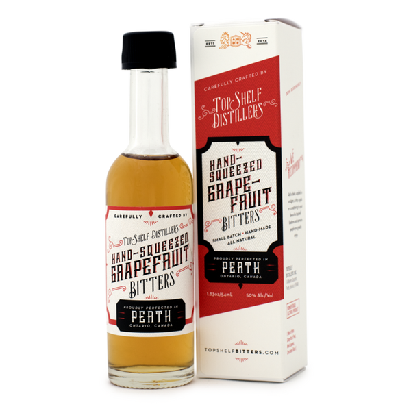 Top Shelf Hand-Squeezed Grapefruit Bitters