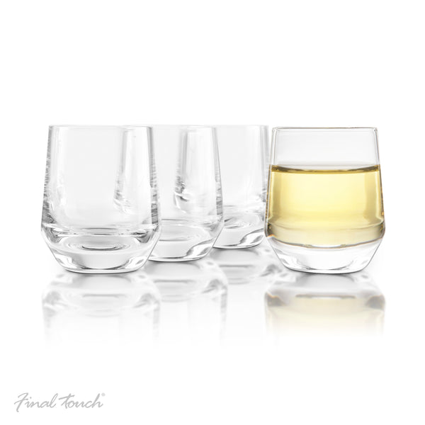 Final Touch Saké Glasses