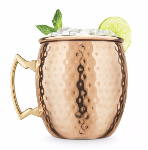 Final Touch Hammered Moscow Mule Mug