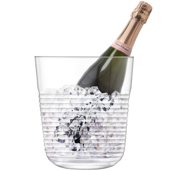 Groove Champagne Ice Bucket