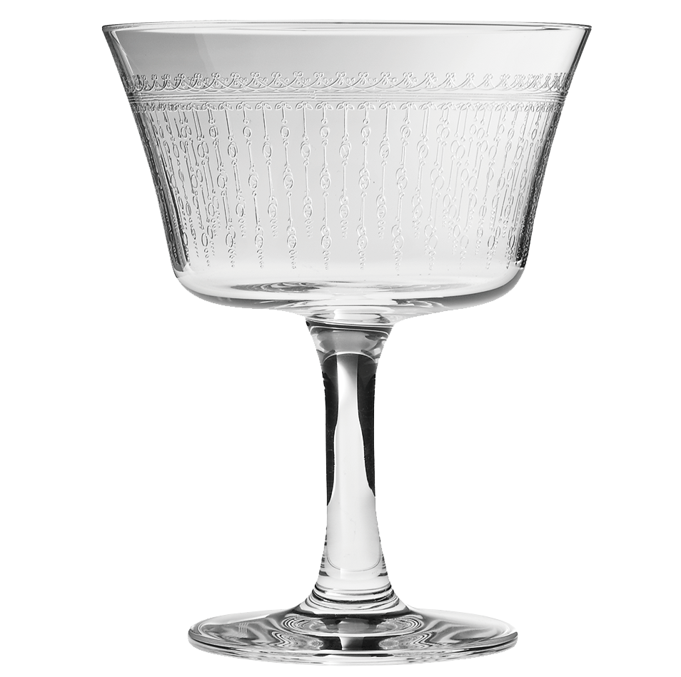 1920 Retro Fizz Glass