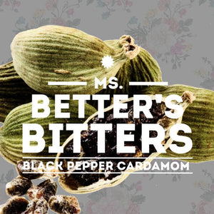 Ms. Better's Black Pepper Cardamom Bitters