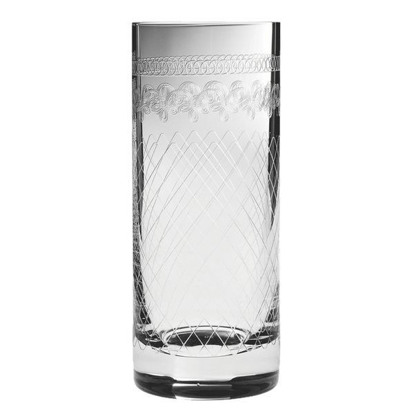 Retro Highball Glass 1910