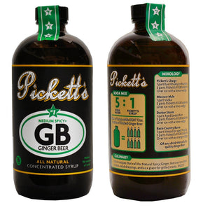 Pickett's Ginger Beer Syrup - Medium Spicy