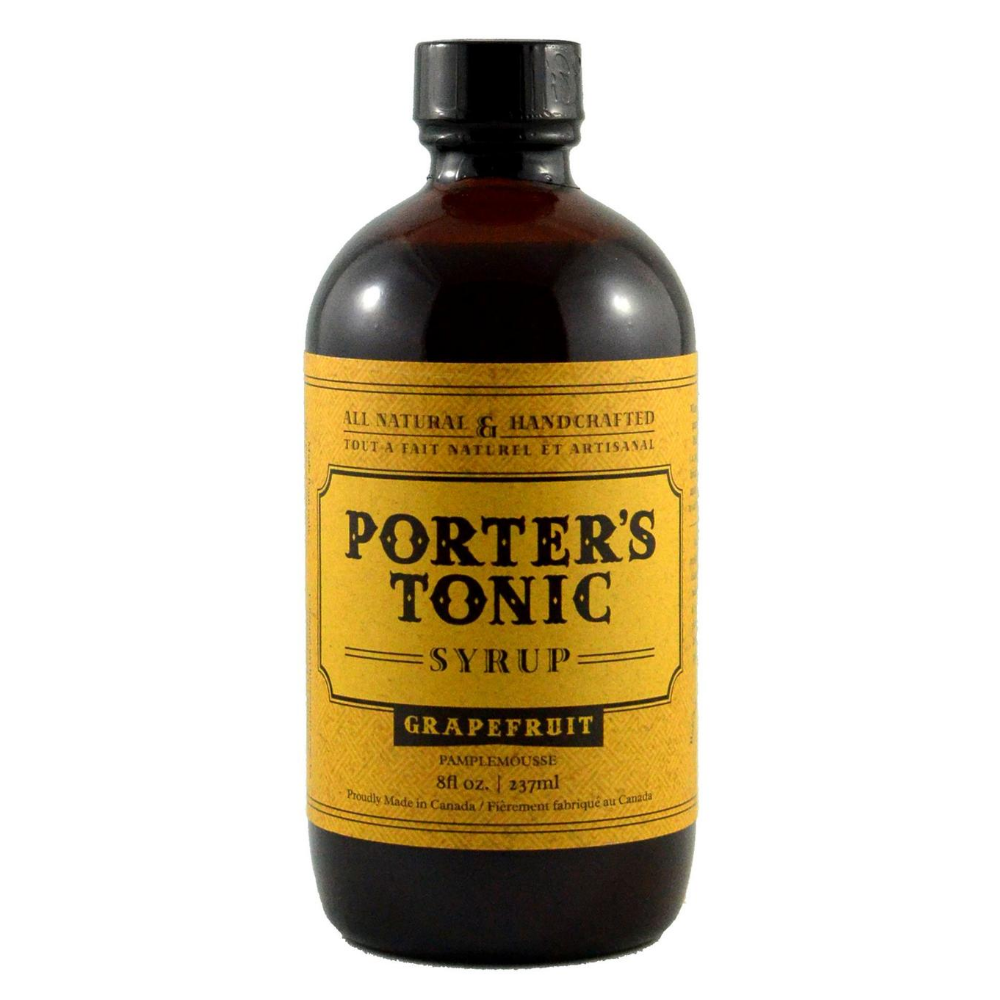 Porter's Grapefruit Tonic Syrup