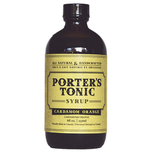 Porter's Cardamom Orange Tonic Syrup