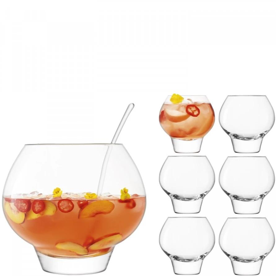 LSA Rum Punch Bowl Set