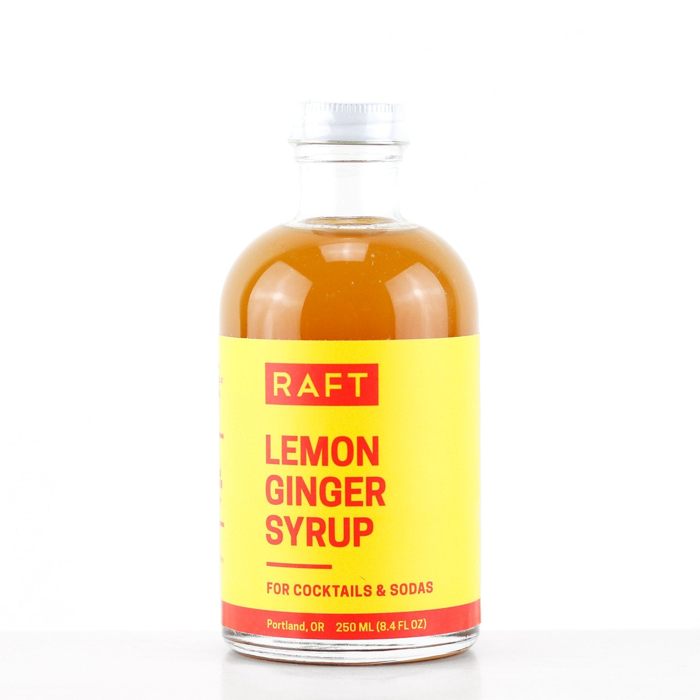Raft Lemon Ginger Syrup