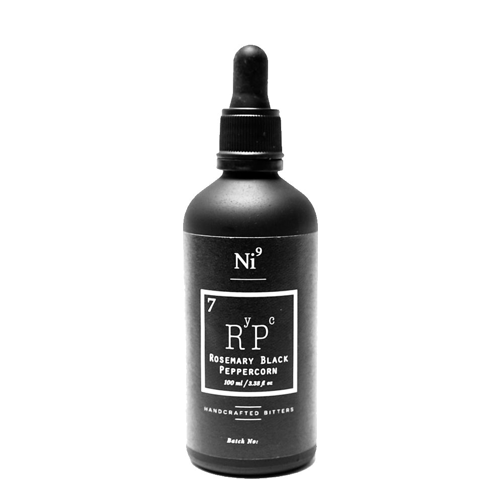 Nickel 9 Rosemary Black Peppercorn Bitters