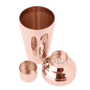 Rose Gold Japanese 3-Piece Shaker