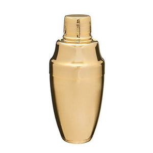 Shiny Gold Japanese Cocktail Shaker 500mL