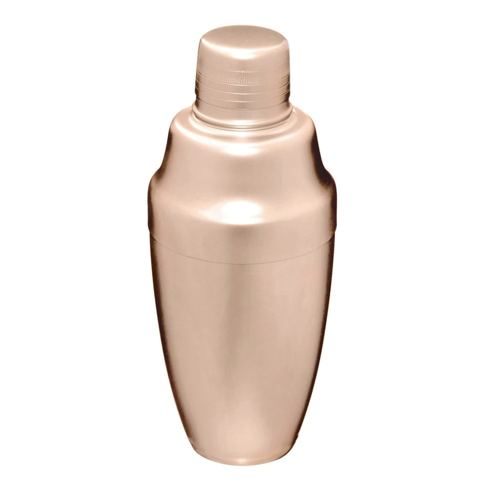 Matte Pink Gold Cocktail Shaker