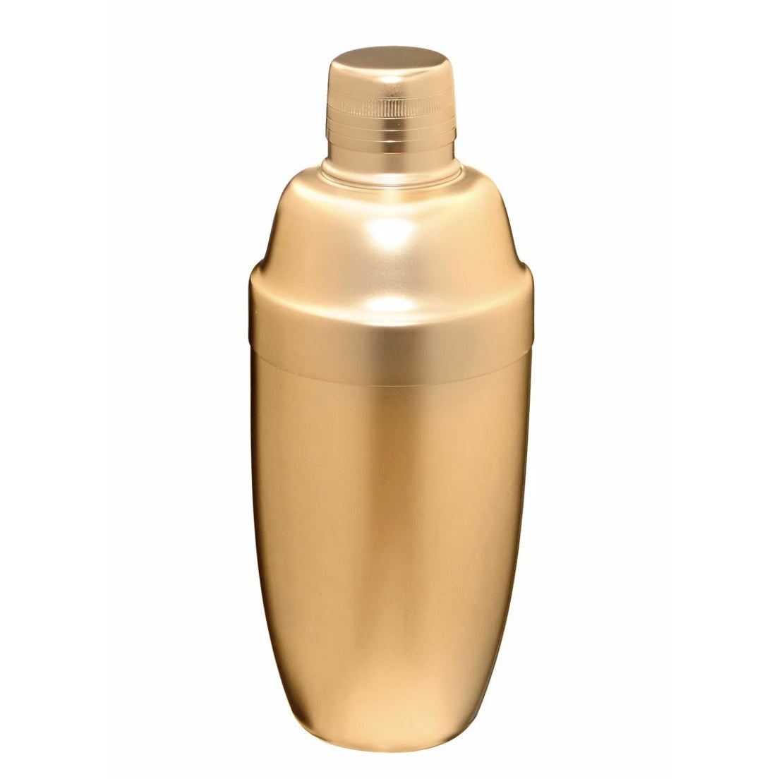 Large Gold Matte Cocktail Shaker