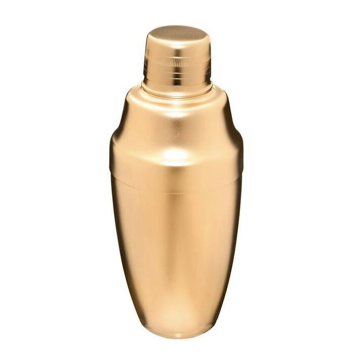 Matte Gold Japanese Cocktail Shaker 500mL