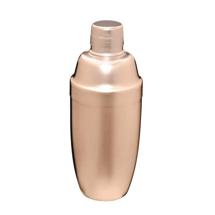 790mL Matte Pink Gold Cocktail Shaker