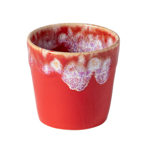 Red Stoneware Cups