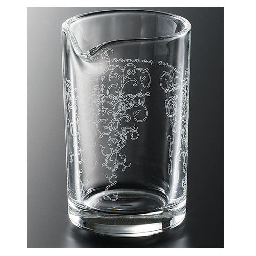 Japanese Mixing Glass with Lace Detail