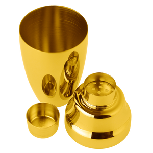 Gold Japanese Cocktail Shaker 500mL -  Shiny