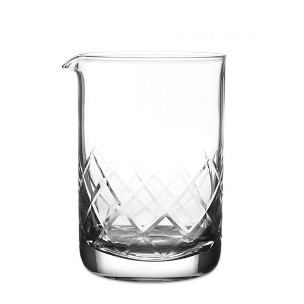 Japanese Traditional Yarai Etched Mixing Glass