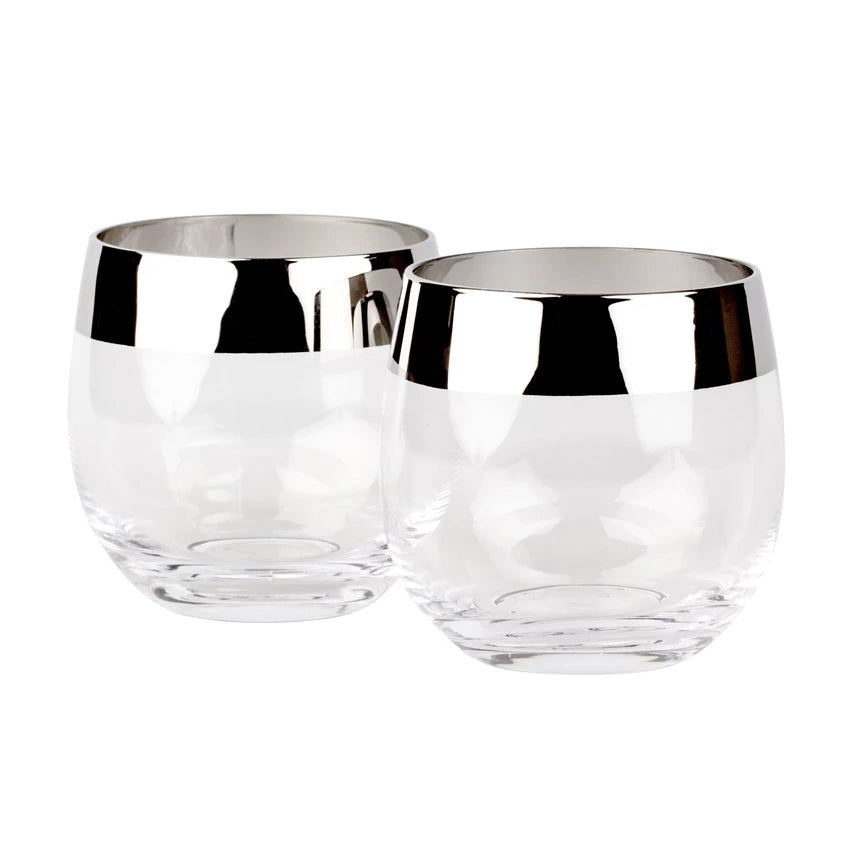 Potion House Chrome Rim Tumblers