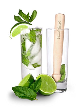 Mojito Glasses & Muddler Set