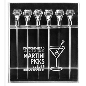 Diamond Martini Picks