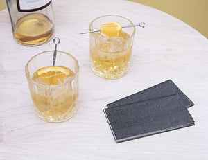 Whiskey Glass Set with Cocktail Picks