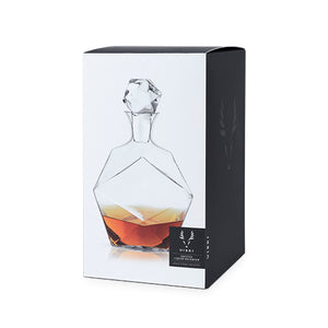 Faceted Decanter