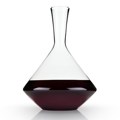 Angled Crystal Wine Decanter